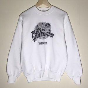 🔥Vintage 1990s Planet Hollywood Sweatshirt